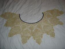 Collar de crochet Francés Vintage Yugo