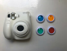 Fujifilm Instax Mini 7s Camera (Instant Camera) With 4 Coloured Lenses