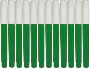 12 Green Felt Tip Bingo Pens, Markers