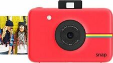 Red Polaroid Snap Instant Digital Camera with ZINK Zero Ink Technology
