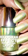 Layla Cosmetics Hologram Effect Nagellack - GOLD IDOL