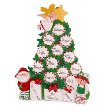 Peppermint Tree Table Display Personalized Christmas Tree Ornament