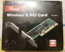 Rosewill Wireless G PCI Card - 802.11 b/g/ ROSEWILL RNX-G300LX - NEW / SEALED