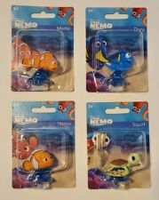 Finding Nemo Cake Topper/ Toy- Marlin, Dory, Nemo, Squirt Lot 4