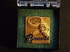 1969 Atlanta Braves World Series phantom press media pin