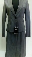 Tailleur Sartoriale gessato Marella giacca+gonna Taglia 42