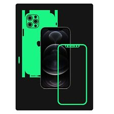 Glow in Dark Skin Protector,Full Body Decal Case Wrap 360, iPhone 12 Pro Max