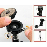 """Tripod Ball Head Quick Release Plate Adapter for Flash Hot Shoe Mount 1/4"""""""