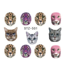 Nagelsticker  Fingernägel Aufkleber Tattoo Nail Art Nageldesign Katzen STZ 501