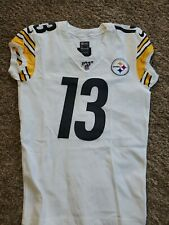 2017 James Washington Nike Skill Pittsburgh Steelers Team Issued Game Jersey 40
