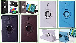 """360° Custodia Flip Smart Samsung GALAXY Scheda 4 8.0 """" SM-T330 T335 Pellicola"""