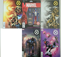 HOUSE OF X LOT OF 5 VARIANT COVER ISSUES (2019) MARVEL COMICS JONATHAN HICKMAN!