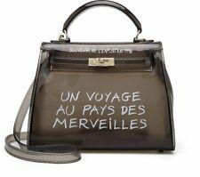 Luxury Clear Transparent PVC Handbag Crossbody