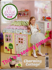 KWIK SEW SEWING PATTERN 108 COTTAGE/PLAYHOUSE/PLAY TENT/CUBBY - FITS CARD TABLES