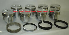 """Chevy 327 Sealed Power/Speed Pro Cast Flat Top Pistons+cast Rings Set/Kit +.030"""""""