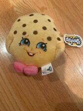 Shopkins Kooky Cookie Plush Toy Stuffed Animal W Tags