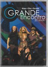 DVD ALCEU, ELBA RAMALHO E GERALDO - O GRANDE ENCONTRO 20 ANOS -BRAZILIAN RELEASE