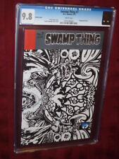 Swamp Thing #7 CGC 9.8 1:25 sketch cover