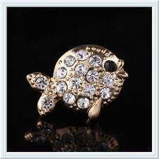 Beautiful Fish Brooch,Rhinestone,Gift Idea,Sparkly,Gorgeous,Cute,Gold,Gems,Bling