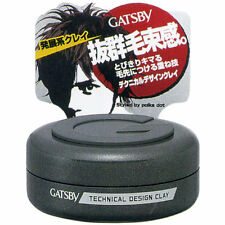 Gatsby Japan Technical Design Clay Series Hair Styling Clay (30g/1 fl.oz)