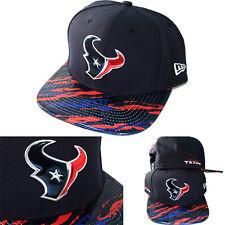 New Era NFL Houston Texans On Field Snapback Hat Color Rush Metallic Symbol Cap