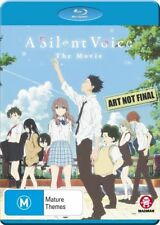 A Silent Voice: The Movie NEW B Region Blu Ray