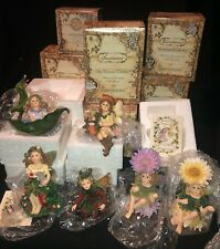 6 Boyds Faeriessence Collection Figurines Spring - Holly - Summer - Echo & More