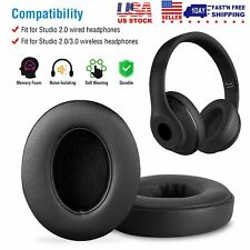 Replacement Ear Pad Cushions For Beats by Dr.Dre Studio 2.0 Over Ear Headphones*