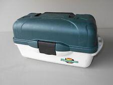 Flambeau Outdoors Plastic Tackle Box Fishing Gear Dark Green Vintage