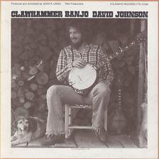 David Johnson - Clawhammer Banjo [New CD]