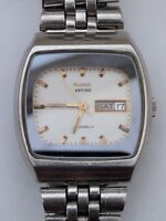 Vintage HMT Arvind 21 jewels automatic day date watch