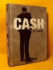 CD BOOK SHAPED BOX SET Johnny Cash The Legend 104TR (4XCD) 2010 Folk Pop Country