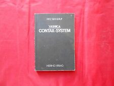 Manual Yashica contax-sistem Instructions Manual 5 7/8x8 11/16in