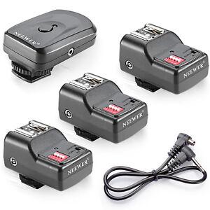 16 Channel Wireless Remote FM Radio Flash Speedlite Trigger w/2.5mm 3 Receivers