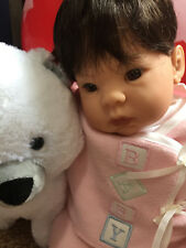 """Lee Middleton Baby Doll by Reva Schick """"SNUGGLES"""""""