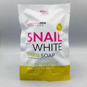 2x Snail Body White Gold  Soap Premium For All Skin Type x10 whitening.70g