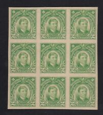 US Philippines 1931 RIZAL IMPERFORATE Scott's #340 in Block/9 mint NH