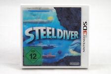 Steel Diver (Nintendo 3DS/2DS) Spiel in OVP, PAL, CIB, TOP, GUT