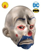 Rubies - Batman The Dark Knight Adult Joker Latex Clown Mask White One Size