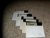 "Lot of 5 Commodore 64 programs 5.25"" disks"
