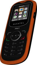 Vintage ALCATEL OT-305 OT 305 Vivid Orange mobile HandPhone HP PHONE Radio w/BOX
