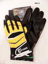 Cutters Gloves Football X40 Revolution Gold/Black Size Large New