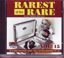 V.A. - RAREST OF THE RARE VOL. 15 - Rare DooWop CD
