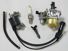 Ignition Coil+ Spark Plug+Fuel Line+Carburetor Carb For Honda GX110 GX120 Engine
