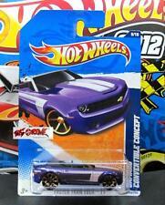 Hot Wheels 2011 #149 Camaro® Convertible Concept PURPLE,NO WINDSHIELD ERROR!