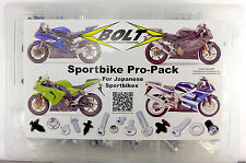 Bolt brand Japanese sportbike 230 piece Pro-Pack hardware kit for Yamaha