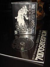 Metal Gear Solid 4 Guns of the Patriots Saga Vol.2  DVD+ BOOK (PS4, DVD, 2008)