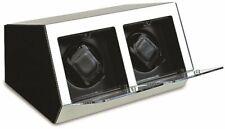 Silver-Tone Metal & Acrylic Double Watch Winder GM8395