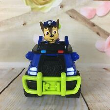 "Paw Patrol Chase Police Cruiser Vehicle And 2"" Tall PVC Figure Free S/H #4"