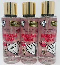 3 Victoria's Secret Fragrance Perfume Mist For Women Backstage Angel 8.4 oz
